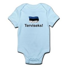Estonian Terviseks Infant Bodysuit