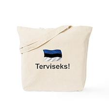 Estonian Terviseks Tote Bag
