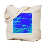 Blue Rabbits Tote Bag