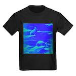 Blue Rabbits Kids Dark T-Shirt