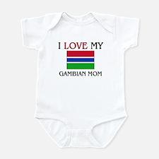 I Love My Gambian Mom Infant Bodysuit