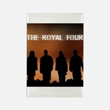 The Royal Four 1 Rectangle Magnet