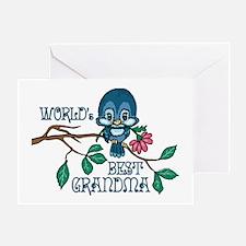 Birdie Best Grandma Greeting Card