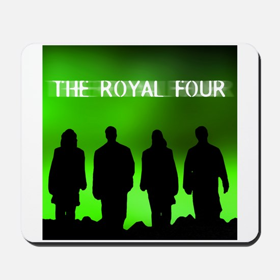 The Royal Four 6 Mousepad