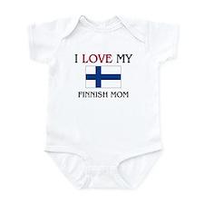 I Love My Finnish Mom Infant Bodysuit