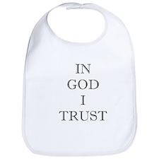 In God I Trust Bib