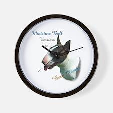 Mini Bull Best Friend 1 Wall Clock
