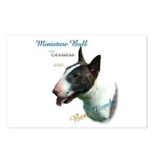 Mini Bull Best Friend 1 Postcards (Package of 8)