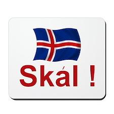Iceland Skal Mousepad