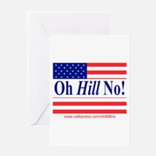 Oh Hill No! Greeting Card