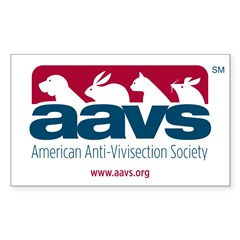 AAVS (Rectangle Sticker)