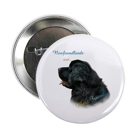"Newfie Best Friend 1 2.25"" Button (100 pack)"