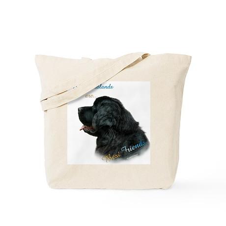 Newfie Best Friend 1 Tote Bag