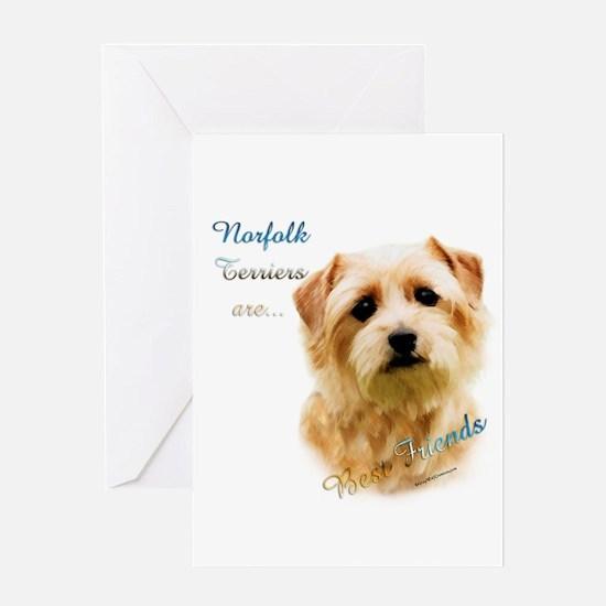 Norfolk Best Friend 1 Greeting Card