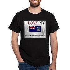 I Love My Falkland Islander Mom T-Shirt