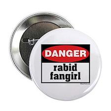 Danger Rabid Fangirl Button
