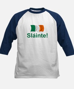 Irish Slainte Kids Baseball Jersey