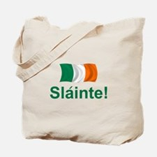 Irish Slainte Tote Bag