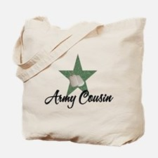 army cousin Tote Bag