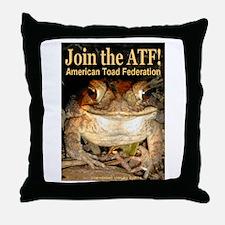 ATF Throw Pillow