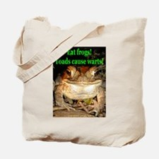 Eat frogs Tote Bag