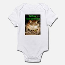 Eat frogs Infant Creeper