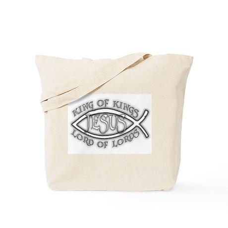 King of Kings Ichthus Tote Bag