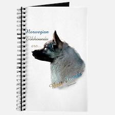Elkhound Best Friend 1 Journal