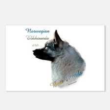 Elkhound Best Friend 1 Postcards (Package of 8)