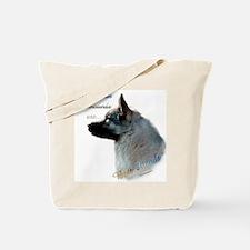 Elkhound Best Friend 1 Tote Bag