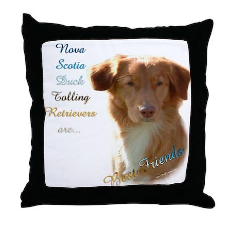 Toller Best Friend 1 Throw Pillow