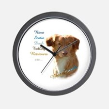 Toller Best Friend 1 Wall Clock