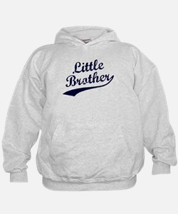 Little Brother (Blue Text) Hoodie