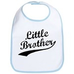 Little Brother (Black Text) Bib