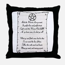 Wiccan Reade Throw Pillow