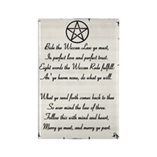 Wiccan Reade Rectangle Magnet