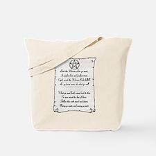 Wiccan Reade Tote Bag