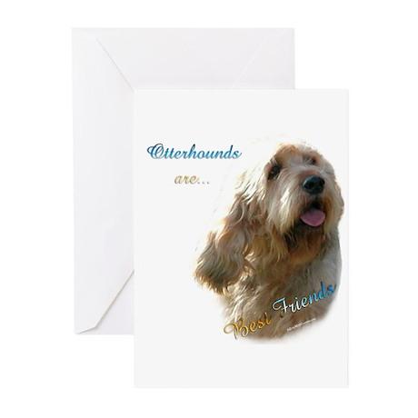 Otterhound Best Friend 1 Greeting Cards (Pk of 20)