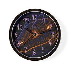 Lava Snake Clock
