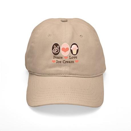 Peace Love Ice Cream Cap