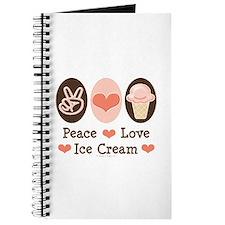 Peace Love Ice Cream Journal