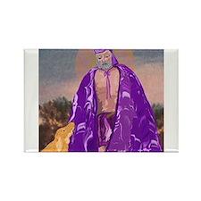 Saint Lazarus Rectangle Magnet