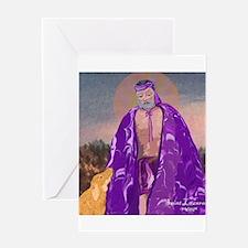 Saint Lazarus Greeting Card