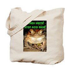Toads unite Tote Bag
