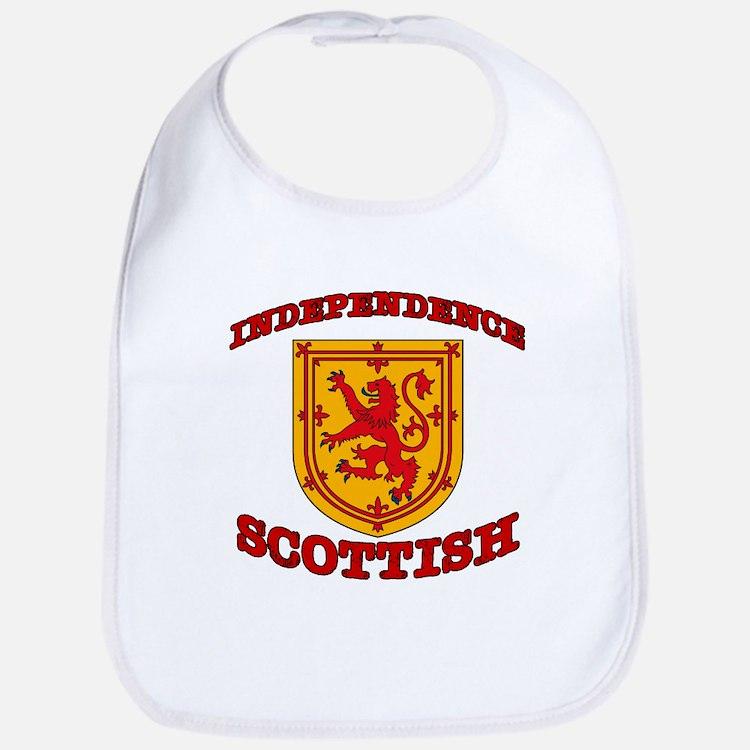 Independence Scottish Bib