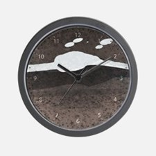 Glee + Umbrage in Taupe Wall Clock
