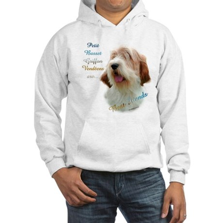 PBGV Best Friend 1 Hooded Sweatshirt