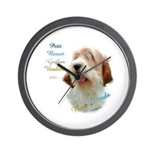 PBGV Best Friend 1 Wall Clock