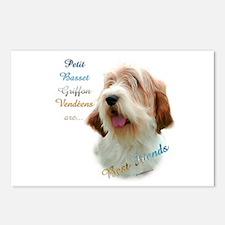 PBGV Best Friend 1 Postcards (Package of 8)