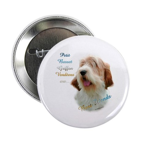 "PBGV Best Friend 1 2.25"" Button"